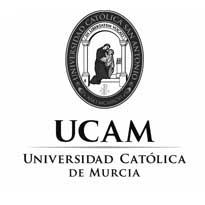 logo ucam Centro clinico de Neuro-rehabilitación integral. Logopedia,Neurologica y física , Murcia